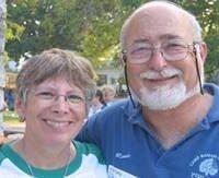 Minda & Ronnie Garr at Camp Ramah in Wisconsin