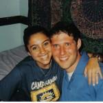 Shari and Noah in 2003