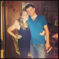 Sarah Koppel and Josh Smith