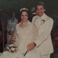 nita and sheldon wedding picture